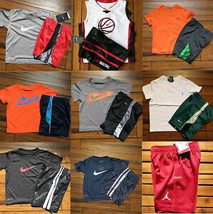 BOYS 2T ~ NIKE  SHORTS * NIKE T- SHIRTS * DRI-FIT SHIRTS BASKETBALL - 16pc ~$363