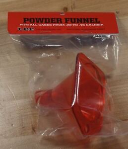 Lee Powder Funnel-(90190) NIP