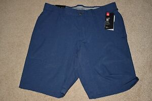 Under Armour Mens Match Play Vented Golf Shorts 2358 Size 34 (Academy 408) NWT