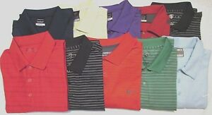 Lot of 10 NIKE & NIKE GOLF Polo Dri Fit Shirts  Polyester Blend XL Multi Color