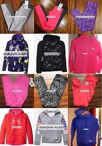 UNDER ARMOUR ~ Size SMALL ~ 2 LOTS ~ LEGGINGS ~ HOODIE SWEATSHIRTS ~ 6PC $300