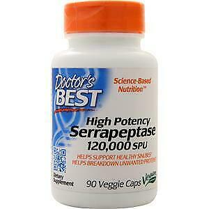 Doctor's Best Best High Potency Serrapeptase 120,000 Units 270 vcaps