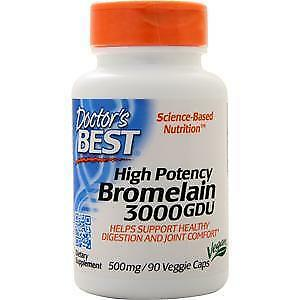 Doctor's Best High Potency Bromelain 3000GDU 90 vcaps