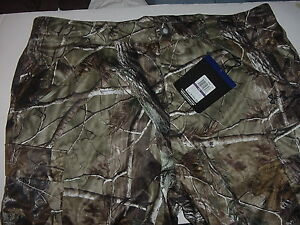 Under Armour ColdGear Mens Stealth Camo Hunting Pants 2XL XXL RealTree NWT $199
