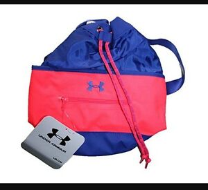 Under Armour Girls UA Mini Tote Shoulder Bag Pink Backpack 1266388 500