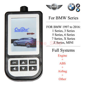 AUTO SCANNER CODE READ DIAGNOSTIC SCAN TOOL For BMW MINI ABS SRS AIRBAG etc.