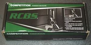 RCBS Competition Powder Measure-Combo (98910) NIB