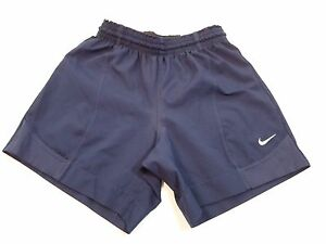 *NIKE TEAM* YOUTHGIRLS SIZE S ATHLETIC RUNNING BLUE SHORTS WAIST 24-26