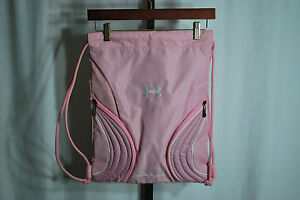 Under Armour Light Pink Back Pack