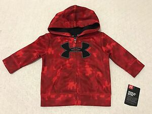 New Under Armour Hoodie big logo  Baby Toddler Baby  36 months