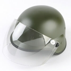 Paintball Tactical M88 PASGT Kelver Helmet with Clear Visor Airsoft Olive Drab