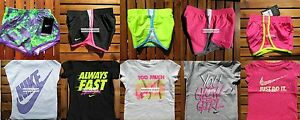 NIKE GIRLS 3T or 4T ~ Tempo RUNNING SHORTS ~ T-SHIRTS ~ $215 ~ NEW ~ 10 PIECES