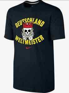 Nike Dri Fit Germany World Cup Champions Graphic shirt soccer Deutschland men