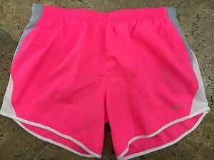 Nike Youth Girl's 10K Running Athletic Fitness Training Shorts~XL~Pink~NWT
