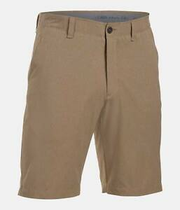 NWT - UNDER ARMOUR Men's MATCH PLAY - 1272358-254 Canvas VENTED GOLF SHORTS - 34