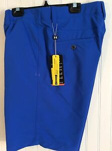 NWT UNDER ARMOUR MENS HEAT GEAR SHORTS SIZE 34