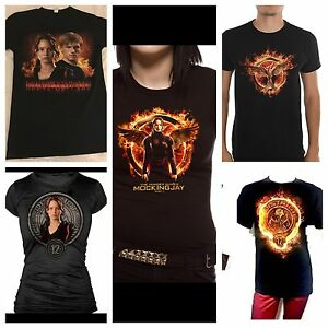 Lot Of 5 HUNGER GAMES T-Shirts New
