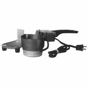 Electric Ladle Cast Iron Pot Mold Hotpot Melter Pour Lead Dipper Melting Heating