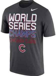 Nike Dri Fit Legend Chicago Cubs World Series Champs Team Training shirt MLB men