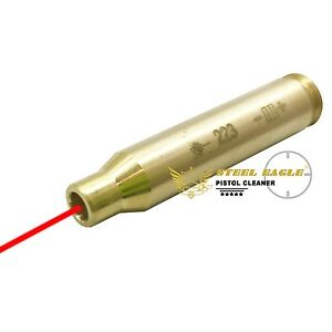 Bore Sighter Sight 223 rem 5.56 Cartridge Red Laser Boresighter from USA