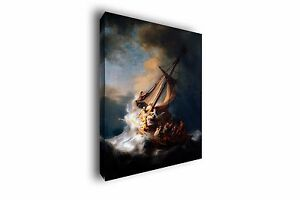 Christ In The Storm Rembrandt Painting Giclee Canvas Print Art Home Decor Wall $164.44
