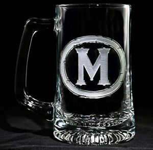 Personalized Beer Glass Set of 2 (M9)