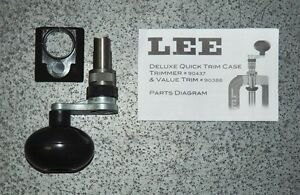 LEE Deluxe Quick Trim-(90437) NEW-Press Mounted Case Trimmer-No Box
