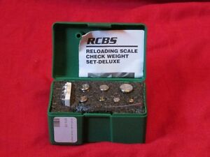 98992 RCBS Deluxe Scale Check Weights 510.5 Grains Discontinued