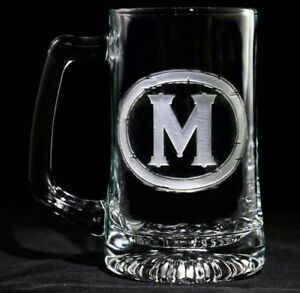 Personalized Beer Glasses Set of 6 (M9)