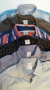 Lot of 6 Brooks Brothers Sport Shirts Traditional Original Polo Size L