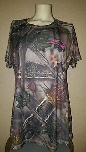 NWT Majestic New England Patriots COOL BASE Camo Dry Fit Shirt Womens Large (L)