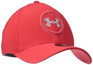 NEW Men's Under Armour Golf Jordan Spieth UA Tour Hat RedSteel ML