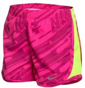 Nike Girl's Tempo Size Dry-Fit Gym Shorts NWT style  617846554576  Sz 4