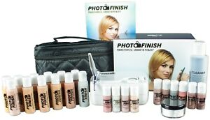Professional Airbrush Makeup SystemFair- Tan  Master set Kit- Luminous