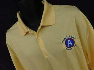 NIKE GOLF~FIT DRY MENS XXL  Lt Yellow