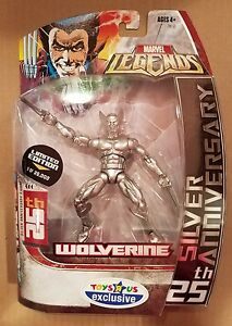 Marvel Legends Wolverine 25th Silver Anniversary Factory Sealed $17.99
