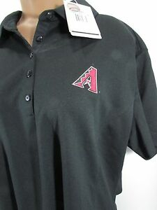 Nike Short Sleeve Polo Golf Shirt Women's  Dry Fit M Arizona Diamondbacks 2x XXL
