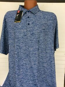 NWT UNDER ARMOUR HEAT GEAR LOOSE GOLF POLO SIZE XX LARGE