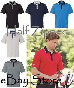 Adidas Mens Climacool Performance Polo Golf Sport Shirt A166 S 3XL $32.01