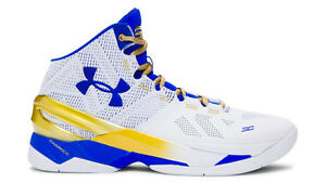 Under Armour Stephen Curry 2 Gold Rings NBA Finals PE Size 13. Dub Nation MVP
