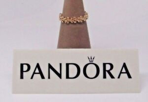 New wHinge Box Pandora 14kt Gold Darling Daisies AKA Fancy Florette Ring 150104