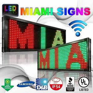 LED Sign Double Sided Wi-Fi Size 19