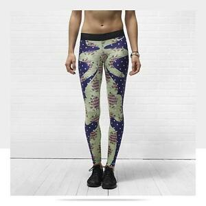 NIKE Tight of the moment Floral Bazaar super RARE running tights yoga sport XS