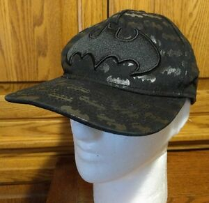 Batman DC Comics Black Baseball Cap Hat Visor Trucker