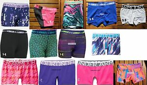 UNDER ARMOUR SHORTY SHORTS ~ LOTS ~ SMALL ~ XS ~ MEDIUM ~ LARGE ~ XL ~ NWT $25EA