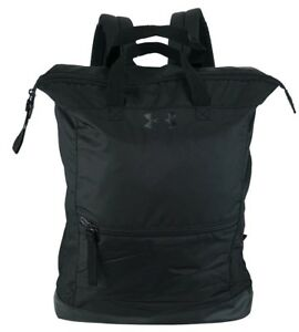 Under Armour Team Multi Tasker Backpack BLACK Everyday Backpack TOTE 26L $50 NEW $36.55