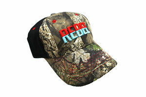 REBEL Lure Fishing Hat Camo Trucker Cap CAP-REB-FB