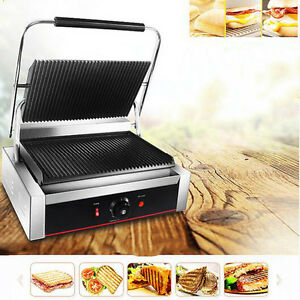 220V Electric Teppanyaki Table Top Grill Griddle BBQ Barbecue Garden Camping