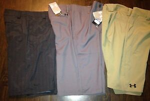 Youth XL Under Armour Shorts Lot. NWT! 3 Pair! Men's Small $110