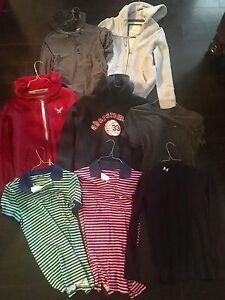 Boys XL Men XS Shirt Hoodie Lot Of 8 AE Hurley Under Armour Shirts